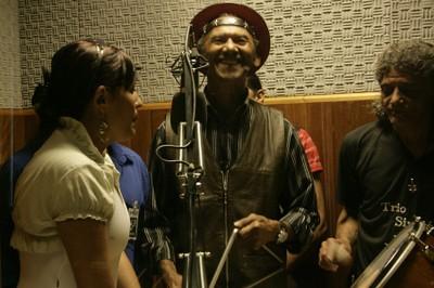 Trio Siridó na Rádio PGR