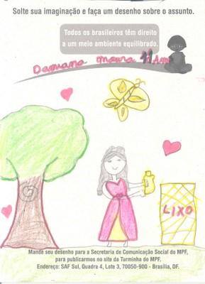 Damiana, 11 anos - Maceió