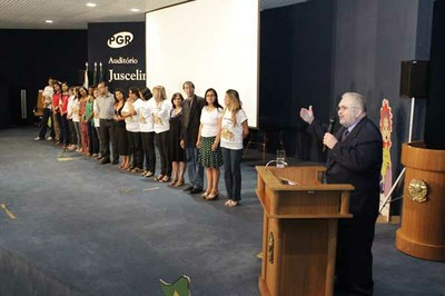 PGR agradeceu professores que participaram do projeto