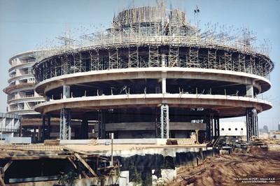 1999 - Obra. Foto Arquivo PGR