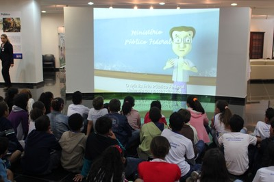 Vídeos despertaram a atenção dos alunos