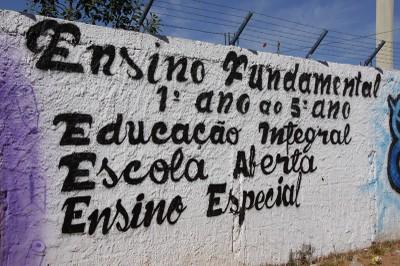 Muro da escola