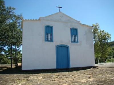 Igreja Santa Bárbara, na cidade de Goiás. Foto: Ascom/GO