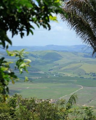 Vista do Quilombo dos Palmares. Foto: Francisco Barros