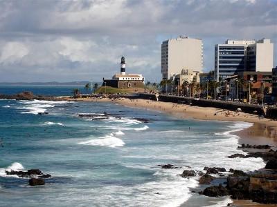 Praia do Farol da Barra, em Salvador. Foto: Ascom MPF/BA