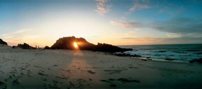 A praia de Jericoacoara chegou a ser eleita uma das 10 mais bonitas do mundo por um jornal dos Estados Unidos. Foto: Setur/CE
