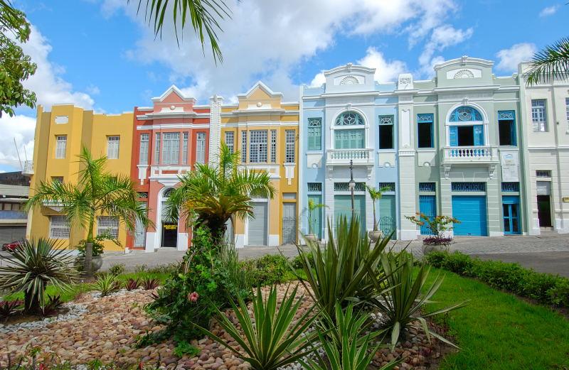 Casas coloridas Paraíba
