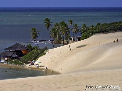 Praia de Jenipabu. Foto Canindé Soares