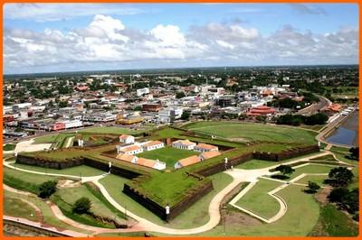 Fortaleza de São José. Foto: governo do Amapá