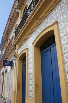 Casarão do século XVIII no Boulevard Castilhos França, em Belém, restaurado depois de Termo de Ajustamento de Conduta promovido pelo MPF. Foto Helena Palmquist