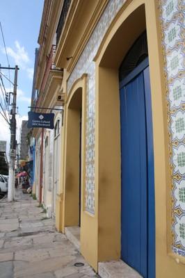Casarão do SESC virou um centro cultural muito utilizado na cidade. Foto Helena Palmquist