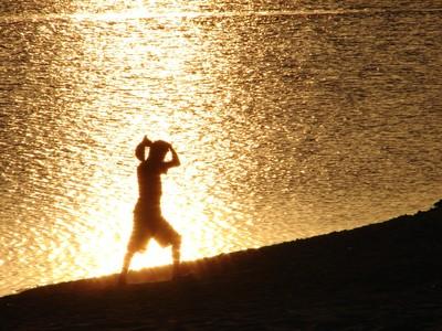 Alter-do-Chão fica no rio Tapajós e é uma praia sazonal. Foto: Eduardo Gonçalves