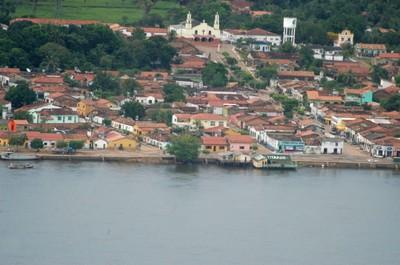 Cidade de Xambioá, próxima à divisa com o Pará, foi sede de combates entre o Exército e os guerrilheiros na Guerrilha do Araguaia. Foto: Marcio Vieira