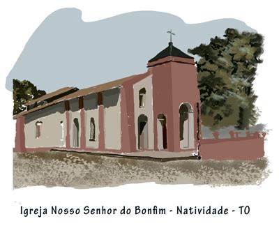 ilustração texto Tocantins
