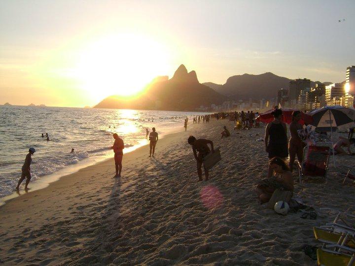 Praia de Ipanema. Foto: Marcelo Del Negri