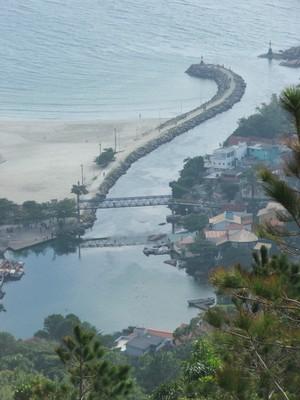 Canal da Barra, em Florianópolis. Foto Andrea Mosqueta