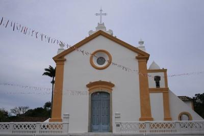 Igreja em Santo Antônio de Lisboa (Florianópolis). Foto: Lucênio Zanoni