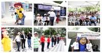 Turminha marca presença em evento contra corrupção
