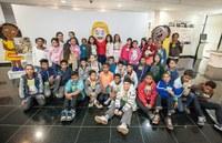 Escola Cidadã encerra as atividades do semestre com a visita de 330 alunos