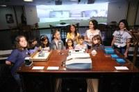 PGR recebe primeira turma de crianças pelo programa Férias no Memorial