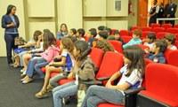 Projeto Cidadão Mirim recebe alunos do ensino fundamental