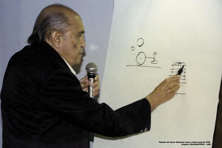Você sabia que Oscar Niemeyer projetou o prédio da Procuradoria-Geral da República?