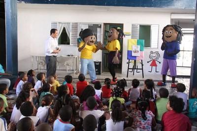 Turminha do MPF na Escola Municipal CSU Narandiba