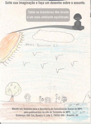 Emerson, 12 anos - Maceió