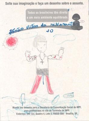 João Victor, 10 anos - Maceió