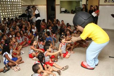 Turminha do MPF na Escola Municipal Osvaldo Cruz