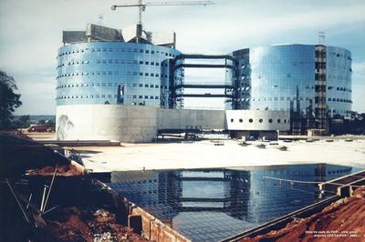 2001 - Obra. Foto Arquivo PGR