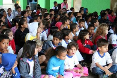 Projeto Turminha do MPProjeto Turminha do MPF nas Eleições chega a escola no Gama (DF) em 16 de agosto