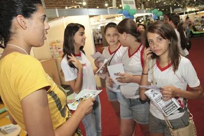 Turminha na Feira do Livro de Brasília