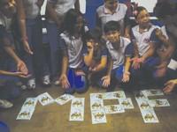 foto dos alunos na escola em Patos/PB