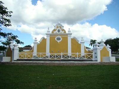 Chafariz na cidade de Goiás. Foto: Ascom/GO
