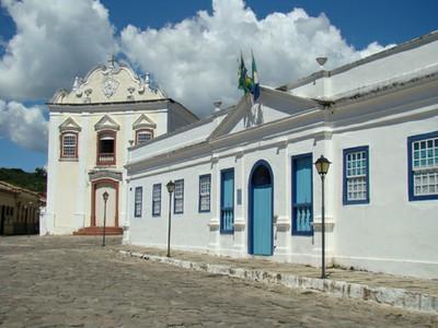 Palácio Conde dos Arcos, na Cidade de Goiás. Foto: Ascom/GO