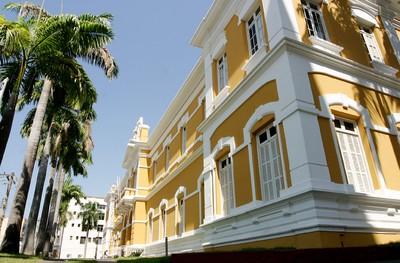 Palácio da Instrução, biblioteca pública estadual. Foto: Secom/MT