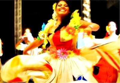 Siriri, dança típica. Foto: Secom/MT