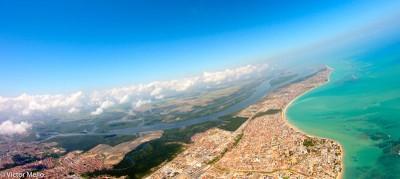 Vista aérea de João Pessoa