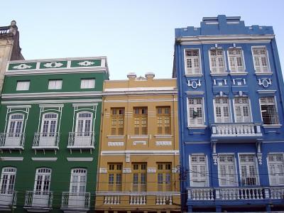 Parte do casario do Pátio do Livramento, no centro do Recife. Foto Márcio Cabral de Moura