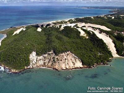 Praia de Pontanegra. Foto Canindé Soares
