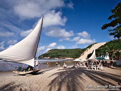 Praia de Pontanegra (2). Foto Canindé Soares