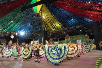 Festa junina no parque Anauá. Foto Jorge Macedo, Detur