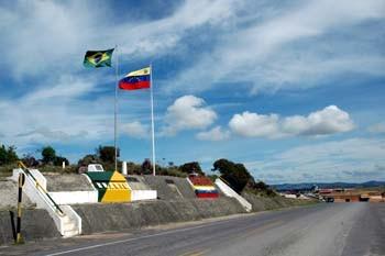 Fronteira Brasil-Venezuela. Foto Jorge Macedo, Detur