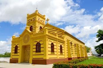 Igreja Matriz Nossa Senhora do Carmo. Foto Jorge Macedo, Detur