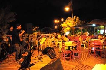 Noite roraimense na Orla Taumanan. Foto Jorge Macedo, Detur