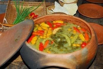 Damurida, iguaria típica feita com peixe e pimenta. Foto Jorge Macedo, Detur