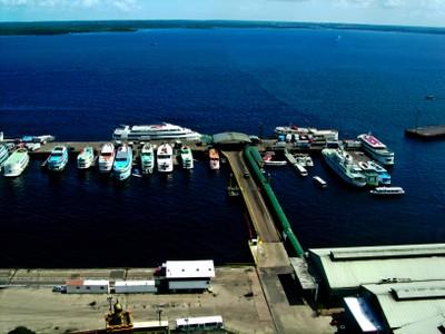 Porto de Manaus. Foto: David Nascimento