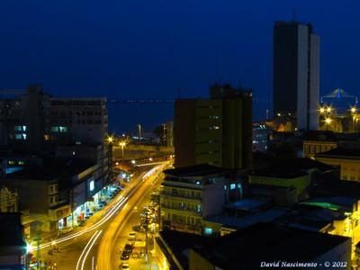 Vista aérea do centro de Manaus. Foto: David Nascimento