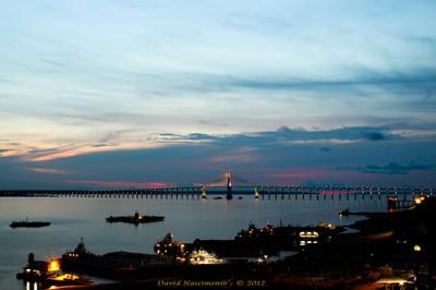 Ponte sobre o Rio Negro. Foto: David Nascimento
